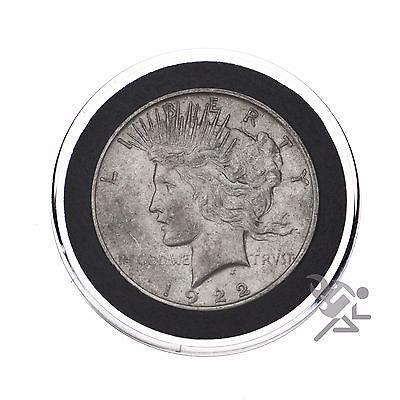 Air-Tite 38mm Black Ring Morgan Silver Dollar Coin Capsules 25 Pack 3