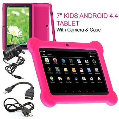"7"" INCH KIDS ANDROID 4.4 TABLET PC QUAD CORE WIFI Camera UK STOCK CHILD CHILDREN"