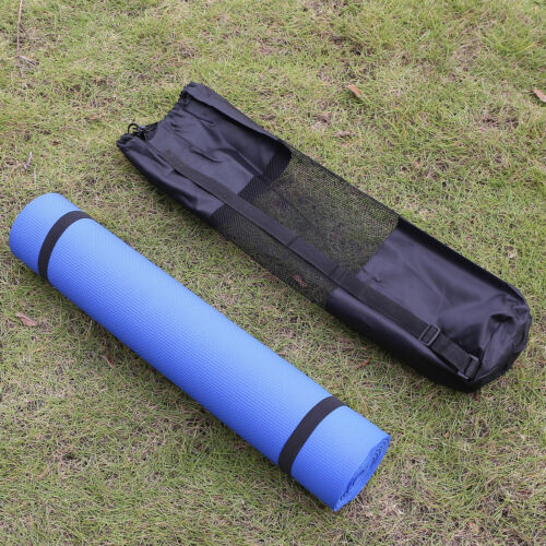 Travel Portable Yoga Mat Carry Bag Mesh Adjustable Strap Nylon Carrier New 5