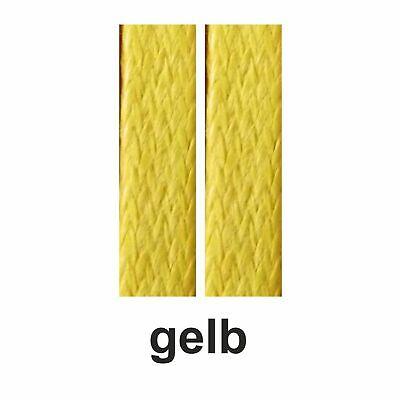 edle flache gewachste Schnürsenkel, waxed laces 75-130 cm lang  ca.5 mm breit 11