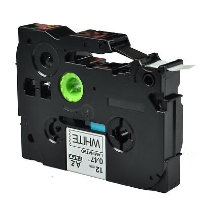 """2PK TZ-231 TZe-231 Compatible for Brother P-touch Laminated Label Tape 12mm 1/2"""""""