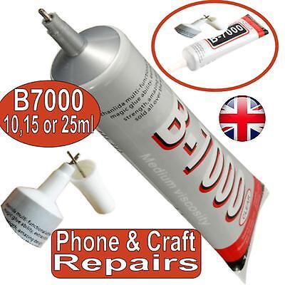 Phone Glue Adhesive Industrial Strength B7000 10ml/25ml Rhinestones Gems Craft 3