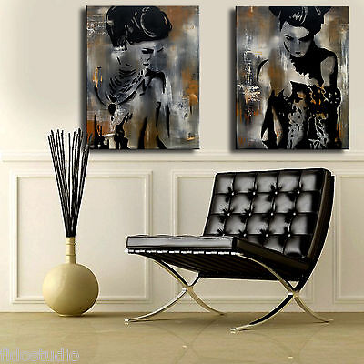 Original Abstract print Modern Home Decor HUGE Canvas Wall Art by Fidostudio 3
