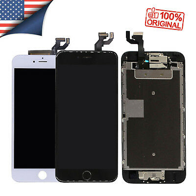 For iPhone 7 6 6s Plus 6 LCD Display Complete Screen Replacement Home Button 2