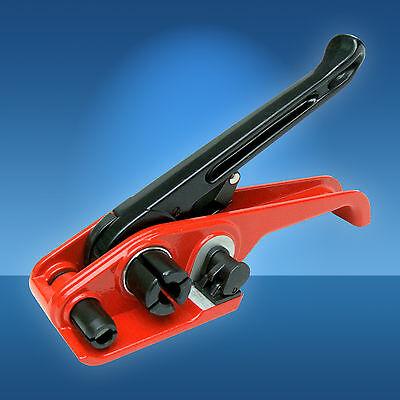 PP und PET Umreifungsgeräte Set 12 - 13 mm, Spanngerät + Verschlusszange