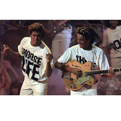 CHOOSE LIFE T Shirt Wham Replica George Michael 80s Retro Fancy Dress S-3XL Lot 4