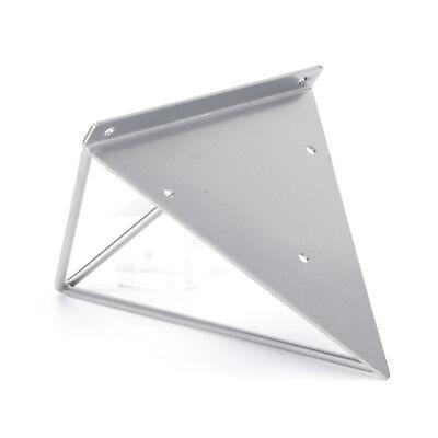 2X Shelf Brackets Metal Prism Mount Floating Wall Mount Support Leg UK 7