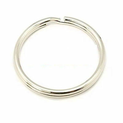 Split Rings Key Ring - 15mm 20mm 25mm 30mm 35mm - Pack Size 10 to 1000 - keyring 9