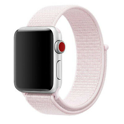 Nylon Woven Sport Loop Band Strap For Apple Watch iWatch Series 4/3/2/1 38/42mm 4