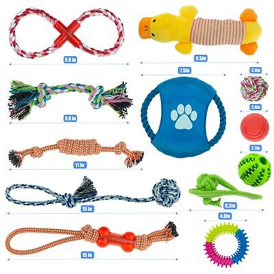 Dog Puppy Toy Rope Xmas Christmas Bundle And Teeth Cleaning Cotton Rope Toys 2
