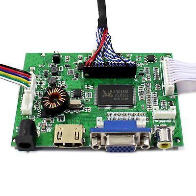 "HDMI VGA AV Audio Controller Board for 17"" 19"" 1280x1024 4CCFL 30Pin LCD Panel 4"