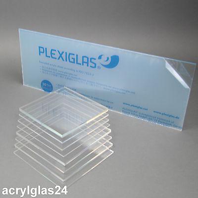 3 mm, 600 x 500 mm Acrylglas Zuschnitt Plexiglas Zuschnitt 2-8mm Platte//Scheibe klar//transparent