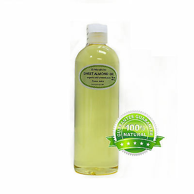 Sweet Almond Oil Cold Pressed Pure Organic *free S&h* 4