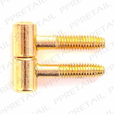 NEW ANUBA HINGE LIFT OFF SCREW IN 36MM FINIALS EB 12 hinges = 12 male + 12