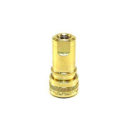 1//4 Female Thread NPT FHK Series Foster H2B 1//4 Body ISO-B 7241-1 Brass Coupler