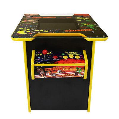 """19"""" LCD Retro Arcade Arcadetisch Spielautomat Spielkonsole Videospiele 60 Spiele"""
