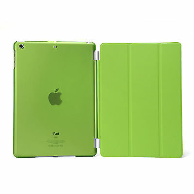 Smart Cover and Hard Back Case for Apple iPad 6th Gen iPad 5 4 3 2 mini Air 8