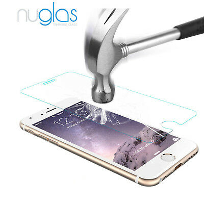 For iPhone 8 Premium NUGLAS Tempered Glass Screen Protector Superior Protection 4