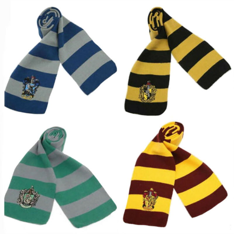 Harry Potter Adults Kids Cloak Robe Cape Scarf Tie Fancy Dress Cosplay Costume 7