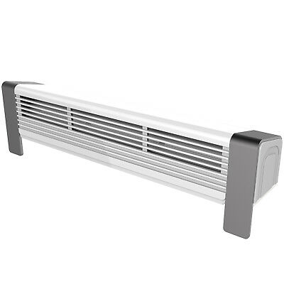 Low Power Radiator Fan Eco Energy Single Double Grill Top & Convention Heaters 2