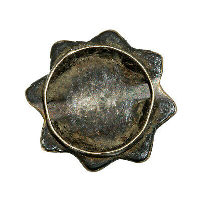 (2566) Antique Tibetan turquoises set in silver 2