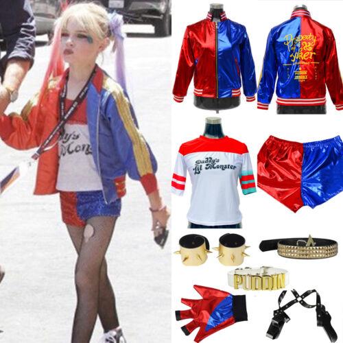 1 of 12free shipping kids boy girl ladybug spiderman harley cosplay fancy dress halloween costume lot