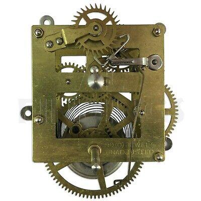 New 8 days large mantle clock movement replacement pendulum hands strike repair 2