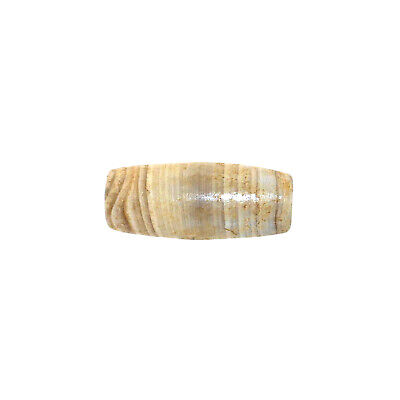 (2435) Bactrian Banded Agate Bead from China-Tibet,  唐朝 5