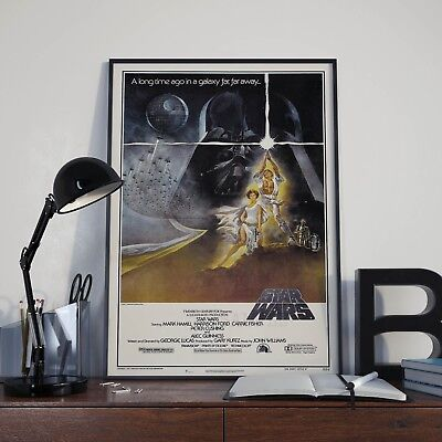Star Wars Trilogy Film Poster Collection A4 & A3 6