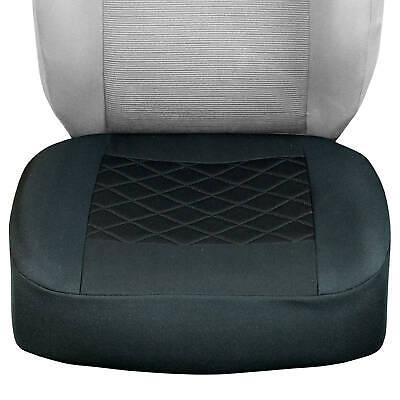 Schwarze Sitzbezug nur untere Teil passt zu allem VOLKSWAGEN Autos
