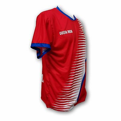 bf14d80a32d ... Costa Rica Men s Soccer Team Jersey Embroidered Logo 100% Polyester 4
