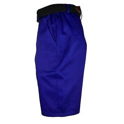 Arbeitshose Kurze Hose Kurz Bermuda Shorts Blau Gr. S - XXXL