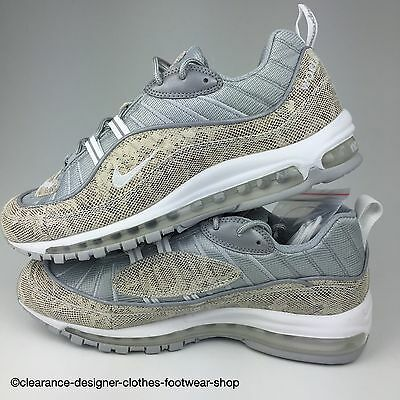 Details about NIKE AIR MAX 98 SUPREME X MENS TRAINERS NIKE LAB LTD EDITION RARE SNAKESKIN SHOE