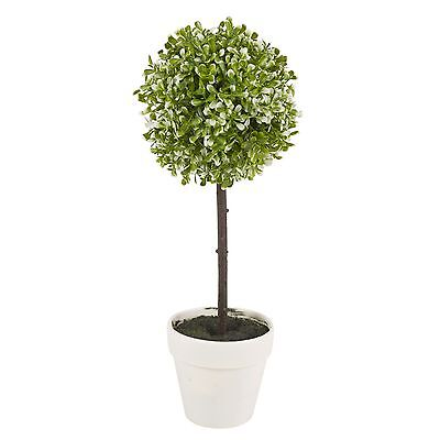 Decorative Artificial Outdoor Ball Plant Tree Pot Colour Small Medium Large 3