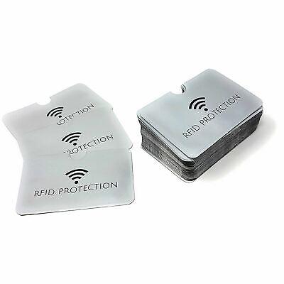 RFID Card Sleeve Wallet Blocking Protector Debit Credit Contactless Wholesale UK 4