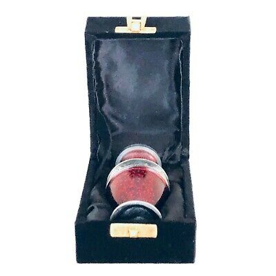 Well Lived® Red Metallic Small Keepsake Cremation Urn for human ashes 4