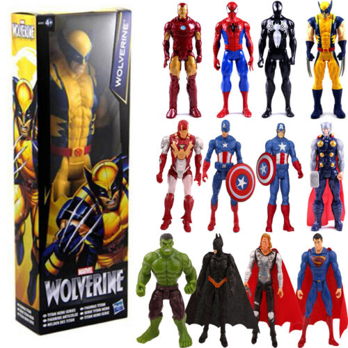 The Avengers Marvel Superheld Spiderman Deadpool Action Figur Figuren Kinder Toy 2