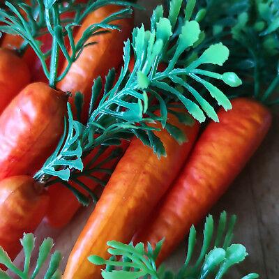 18 x Möhren Karotten 6.5cm Schneemann Nase Dekoration Ostern Gemüse Kunstgemüse 11