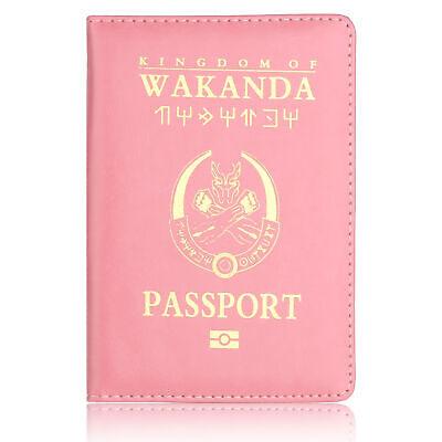 The Avenger Wakanda Hydra Hogwarts Passport Cover RFID Blocking Credit Card Case 6