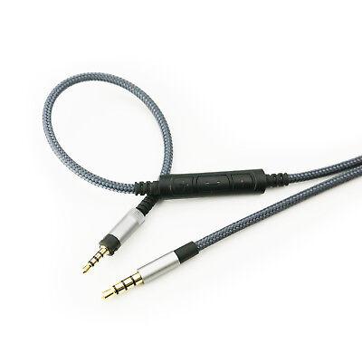 HD 4.50 BTNC,HD4.30i HD4.30G New Cable with mic volume for Sennheiser HD4.40 BT