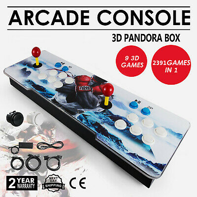 Pandora's Box 3D Plus 2400 in 1 Video Games Retro Arcade Console HD Support TV 5