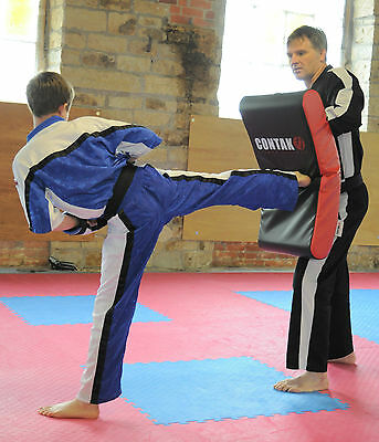 Contak Curved Kick Shield Thai Boxing Taekwondo MMA UFC Kickboxing Striking Pads