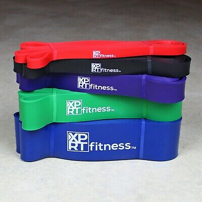 XPRT Fitness Pull Up Resistance Bands - Mobility Stretch Powerlifting 3