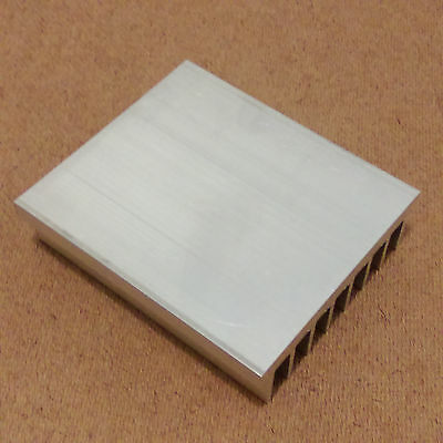 1 Of 2FREE Shipping 4 Inch Heat Sink Aluminum (4.0 X 3.5 X 1.05) Inches.  Low Thermal