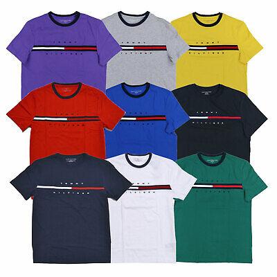T Shirt ColorBlock Flag Men/'s Tommy Hilfiger Short-Sleeve Tino Tee