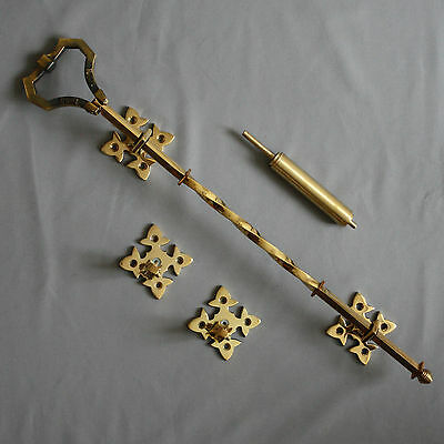 Victorien Inspiré Laiton Lichfield Pull De Bell 2