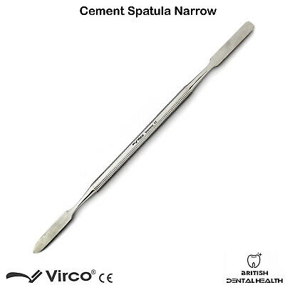 3X Dental Cement Spatula Wax Amalgam Mixing Spatula Narrow German Stainless Ce