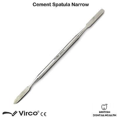 Dental Cement Spatula Wax Amalgam Mixing Spatula Narrow German Stainless Stel Ce 3