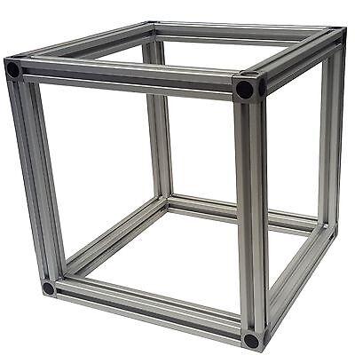 alu profil aluprofi 30x30 nut 8 bosch raster aluminiumprofil eloxiert top eur 1 36. Black Bedroom Furniture Sets. Home Design Ideas
