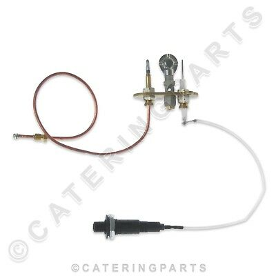 Blue Seal Natural Gas Pilot Assembly Complete Kit Chargrill Ignitor Electrode 3